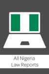 All Nigeria Law Reports cover
