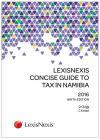 LexisNexis Concise Guide to Tax in Namibia 2016 cover