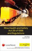 Mine Health and Safety Act 29 of 1996 and Regulations (ENS Edition) cover