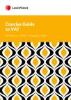 Concise Guide to VAT 2020 25th Edition cover
