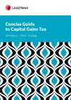 Concise Guide to Capital Gains Tax 2020 cover