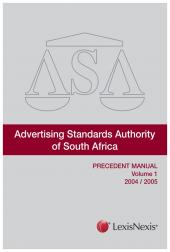 Advertising Standards Authority Precedent Manual Vol 1 to 5 cover