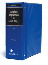 Aviation Legislation in South Africa Full Set cover