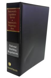 Butterworths Legislation Service, National Building Regulations and Building Standards Act, No. 103 of 1977 cover