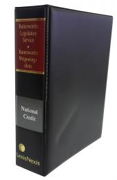 Butterworths Legislation Service, National Credit Act, No. 34 of 2005 cover