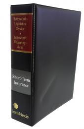 Butterworths Legislation Service, Short-Term Insurance Act, No. 53 of 1998 cover