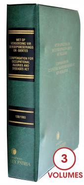 Compensation for Occupational Injuries and Diseases Act 130/1993 Wet op Vergoeding vir Beroepsbeserings en –siektes 130/1993 cover