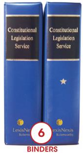 Constitutional Legislation Service cover