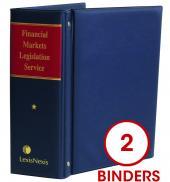 Financial Markets Legislation Service cover