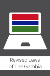 Revised Laws of Gambia cover
