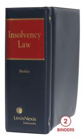 Insolvency Law cover
