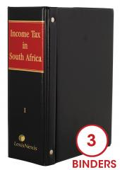 Income Tax in South Africa Commentary cover
