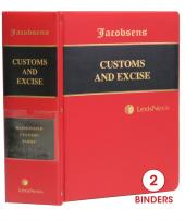 Jacobsens Harmonized Customs and Excise Tariff Book cover