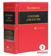 Jacobsens Prohibited and Restricted Goods Index, Rules and Manual on the Completion of SAD Declarations cover