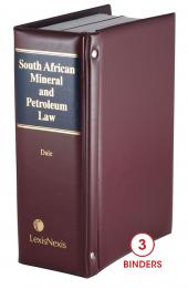South African Mineral and Petroleum Law cover