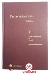Law of South Africa cover