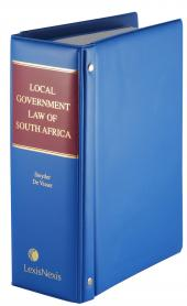 Local Government Law of South Africa cover
