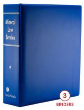 Mineral Law Service cover