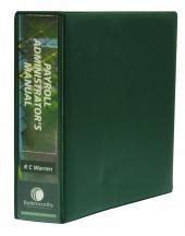 Payroll Administrators Manual cover