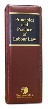 Principles and Practice of Labour Law cover
