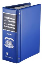 PSSA Pharmacy Law Compendium Volume 1 English only cover