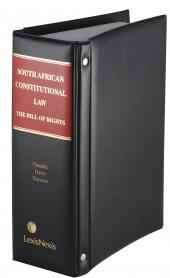 South African Constitutional Law: The Bill of Rights cover