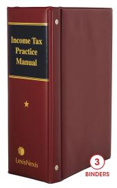 Income Tax Practice Manual cover