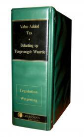 Value-Added Tax Legislation/Belasting op Toegevoegde Waarde Wetgewing cover
