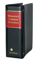 HIEMSTRA'S CRIMINAL PROC (2MD) cover
