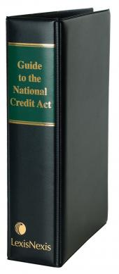 Guide to the National Credit Act cover