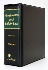 Mine Health and Safety Law cover