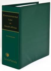 Environmental Law in South Africa cover