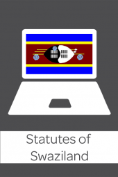 Statutes of Swaziland cover