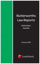 ARBITRATION LAW REP 2016 SET N cover
