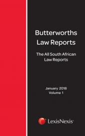All South African Law Reports 2018 cover