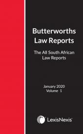All South African Law Reports 2019 cover