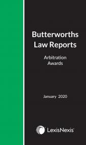 Arbitration Law Reports 2018 cover