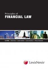 Principles of Financial Law cover