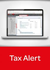 Tax Alert cover