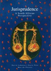 Jurisprudence – A South African Perspective cover