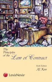 The Principles of The Law of Contract cover