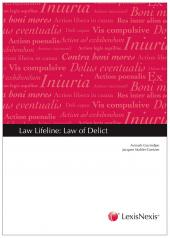 Law Lifeline: Law of Delict cover
