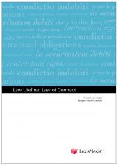 Law Lifeline: Law of Contract cover