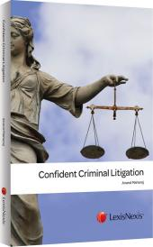 Confident Criminal Litigation cover