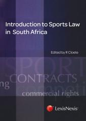 Introduction to Sports Law in South Africa cover