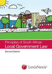 Principles of South African Local Government Law cover