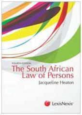 Law of Persons 4th edition cover