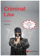 Criminal Law 6th Edition cover