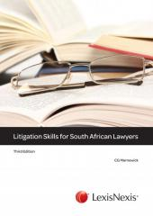 Litigation Skills for South African Lawyers cover