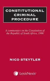 Constitutional Criminal Procedure cover